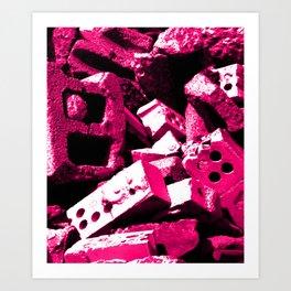 Dream House Rubble Art Print