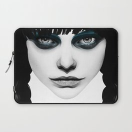 Wakeful Warrior - In Blue Laptop Sleeve