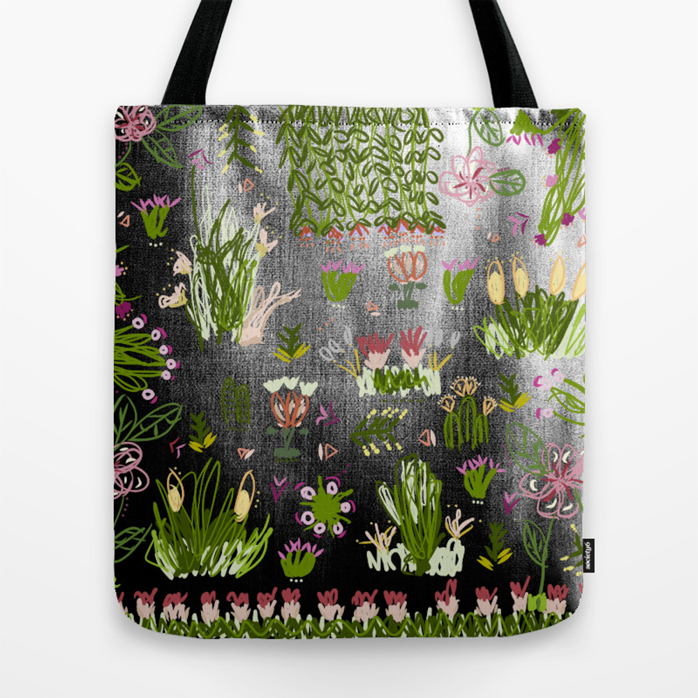 Back In The Garden Tote Purse by Voyageinside (TBG9961908) photo