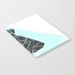 Geometic dog Notebook