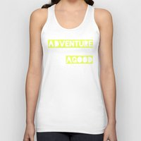 adventure Tank Tops featuring Adventure by Tina Crespo