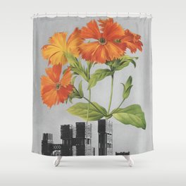 """255 - """"a tree grows in Brooklyn"""" Shower Curtain"""