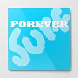 Forever Surf Metal Print
