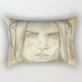 Maedhros Old Paper Rectangular Pillow