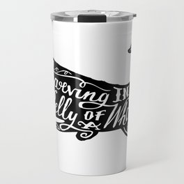 Starving in the Belly of a Whale Travel Mug