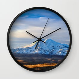 Mount Elbrus Russia Wall Clock