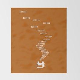 Coffee Coffee Coffee Throw Blanket