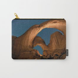 Double  Arch  - Nature Window in Utah Carry-All Pouch