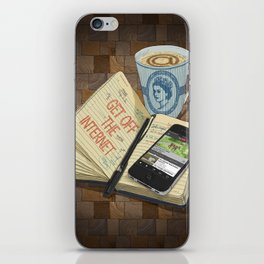 Internet Addict iPhone Skin