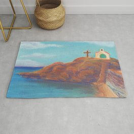 Church by the Sea Rug