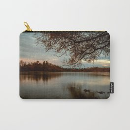 Subdued Sunset on the Sacramento River Carry-All Pouch
