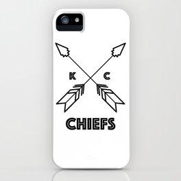 Chiefs Arrowhead iPhone Case