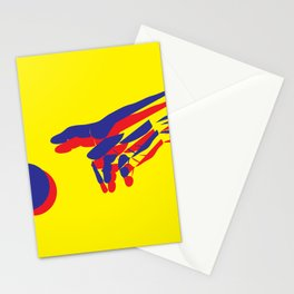 The creation of Adam II Stationery Cards