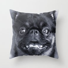 I Am Cute And I Know It Throw Pillow