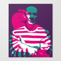 picasso Canvas Prints featuring Picasso by Art Pop Store