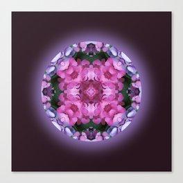 Tranquility Mandala for Life Canvas Print