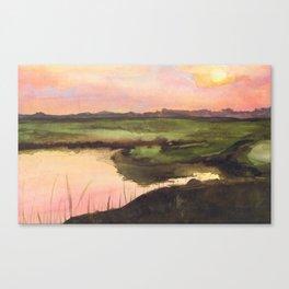 mizuumi Canvas Print
