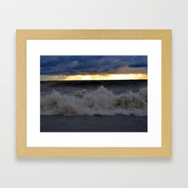 Waves & Storms 1 Framed Art Print
