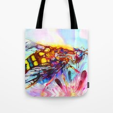 Bee Color-indulged Version Tote Bag