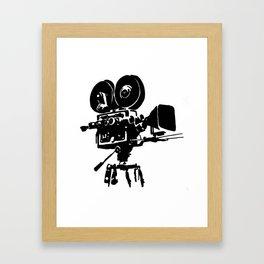 For Reel Framed Art Print