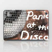 panic at the disco iPad Cases featuring Panic! At The Disco by Stephanie Janeczek