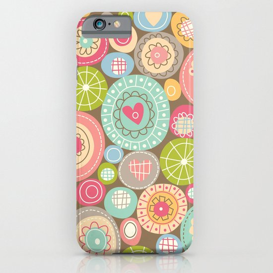 Fun Circles iPhone & iPod Case