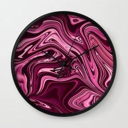 ABSTRACT LIQUIDS XIV Wall Clock