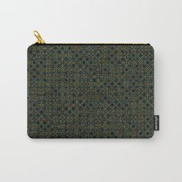 Random Octagonal Pattern  Carry-All Pouch