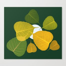 dead leaf club Canvas Print