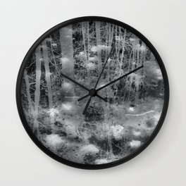 Ghostly Image Wall Clock
