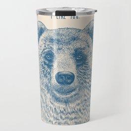Bear (Ivory) Travel Mug