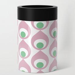 Retro Avocado Pink Can Cooler
