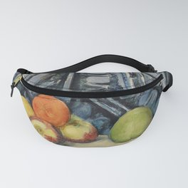 Apples and Cloth (Pommes et tapis) (ca. 1893–1894) by Paul Cézanne. Fanny Pack