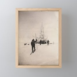Vintage Explorers, 1894 Framed Mini Art Print