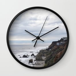 Hike down towards El Matador State Beach Wall Clock