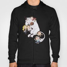 teens and wolves and unicorns Hoody