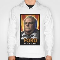 ford Hoodies featuring Ford Nation by RadiationLeak