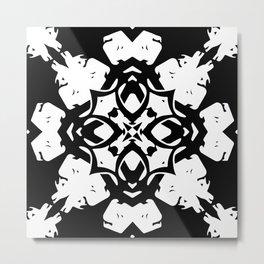 Callisto IV (White) Metal Print
