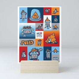 We love Lanna 1 Mini Art Print