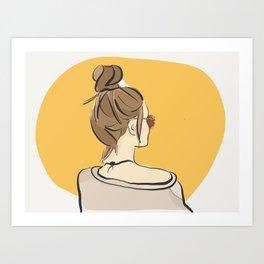 Fashion Sunday-Funday Art Print