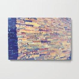 Waterfall Wall Version 1 Metal Print