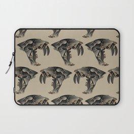 Ancient Warrior (Sabertooth Skull) Laptop Sleeve