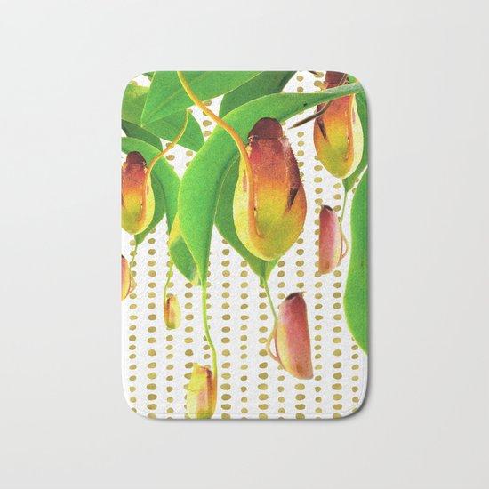 Carnivorous Plants Bath Mat