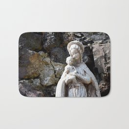Mother mary Bath Mat