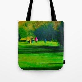 A walk in the park (Digital Art) Tote Bag