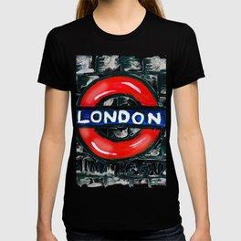 london underground / metro /subway T-shirt