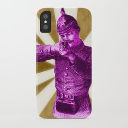 Pink Soldier iPhone Case