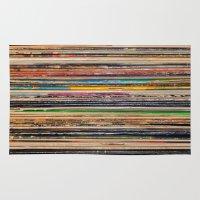 vinyl Area & Throw Rugs featuring Vinyl by elle moss