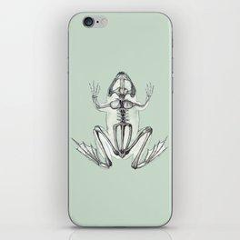 Frog Skeleton: Animal Anatomy iPhone Skin