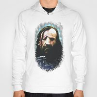 the hound Hoodies featuring THE HOUND by Chewgowski